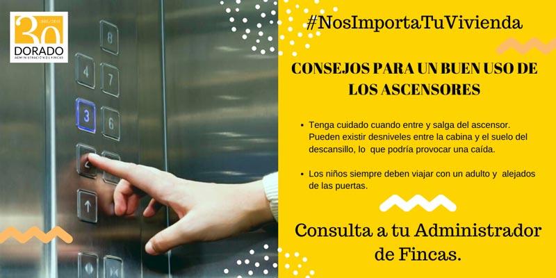 consejos para un buen uso de los ascensores cuidado entrada y salida dorado administracion y gestion de fincas