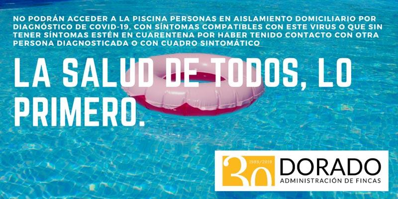utilizacion piscina comunitaria consejos la salud de todos lo primero dorado administracion y gestion de fincas
