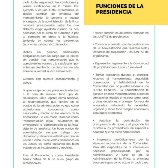 Dorado Administración y Gestion de Fincas Manual del Presidente guia para ejercer la presidencia 3